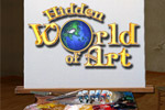 Help Lana restore artistic masterpieces in Hidden World of Art!