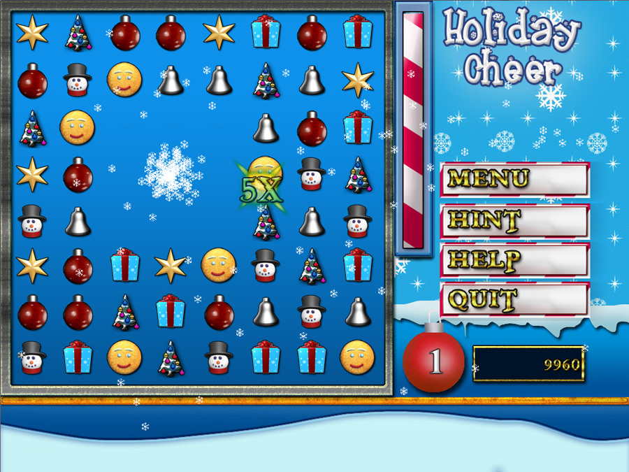 Holiday Cheer screen shot