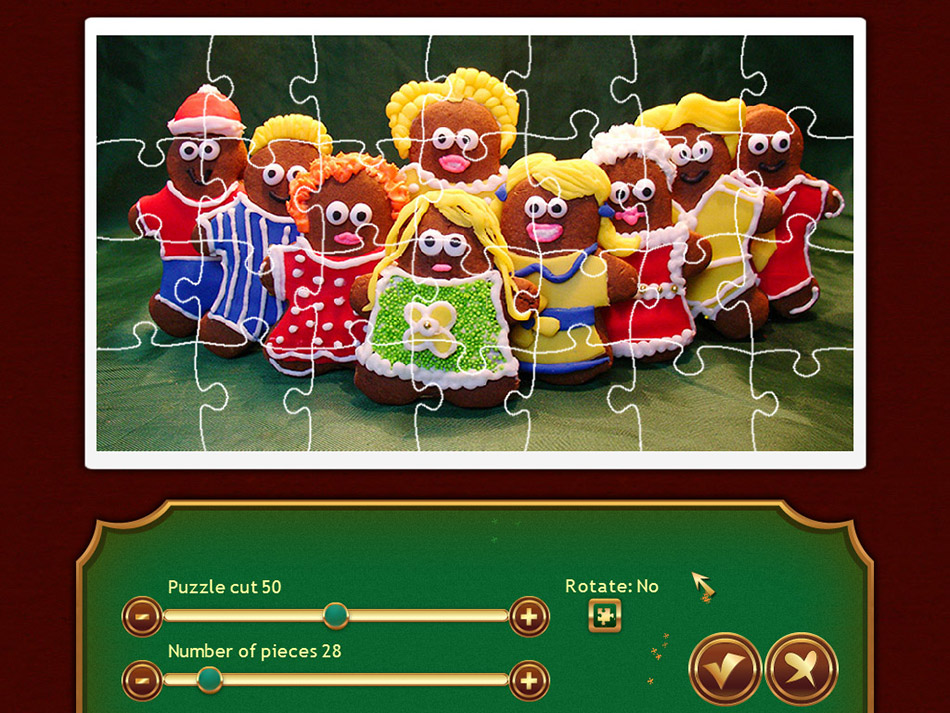 Holiday Jigsaw Christmas screen shot