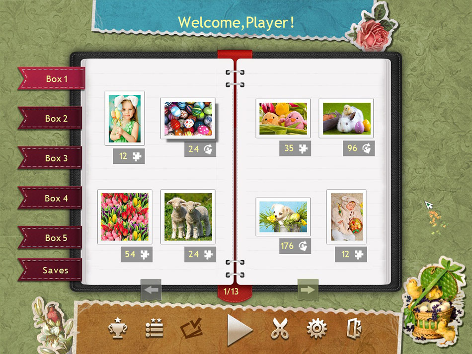 Holiday Jigsaw Easter screen shot