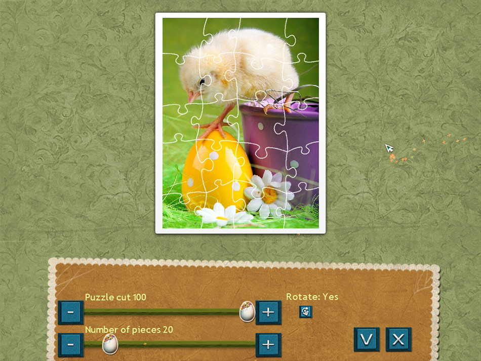 Holiday Jigsaw Easter screen shot