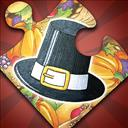 Holiday Jigsaw Thanksgiving Day - logo