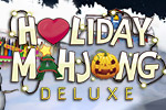 Match tiles in 3D mahjong layouts in Holiday Mahjong Deluxe.  Get a dose of Halloween, Valentine's Day and Christmas any time of the year!