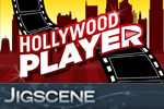 In Hollywood Player JigScene, race to solve a jigsaw puzzle with a movie scene playing on the pieces!