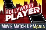 Hollywood Player Movie Match Up features scenes and stars from hit Hollywood movies! Play online for free.