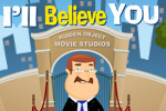 Watch 'I'll Believe You' in the screening room, pay attention to the props in each scene, and then find them on lcoation in Hidden Object Studios!