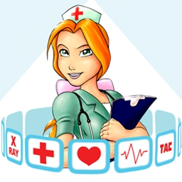 Hospital Hustle - Diagnose and treat patients and manage a busy hospital in Hospital Hustle! - logo