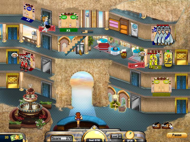 Hotel Dash 2: Lost Luxuries screen shot