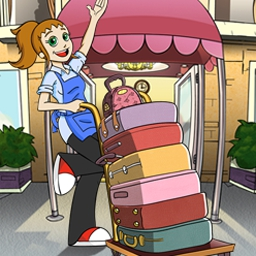 Hotel Dash - Suite Success - Hotel Dash™ - Suite Success™ features Flo, Quinn, and over 90 upgrades! - logo