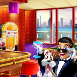 Hotel Mahjong Deluxe - Make your reservation for tile-matching madness with Hotel Mahjong Deluxe! - logo