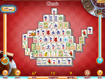 Hotel Mahjong Deluxe screen shot