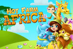 Getting tired of milking cows and harvesting carrots? Explore the world of a safari park owner! Play Hot Farm Africa today!
