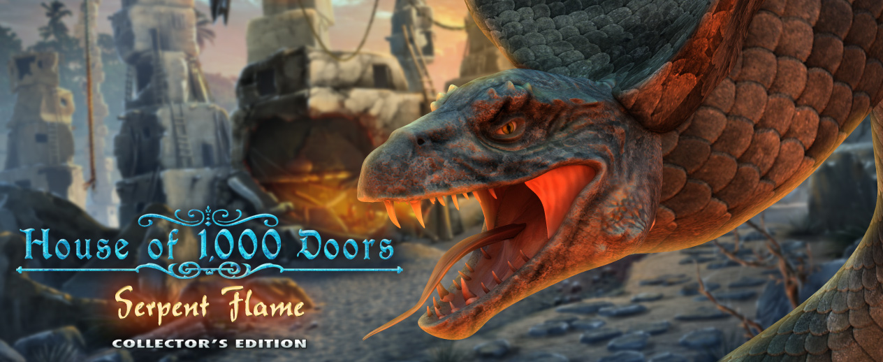 House of 1000 Doors: Serpent Flame Collector's Edition - Stop these giant snakes! - image