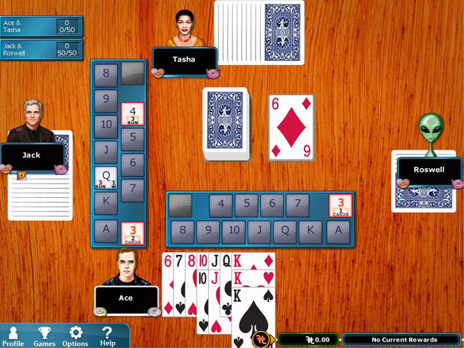 Hoyle® Card Games 2012 screen shot