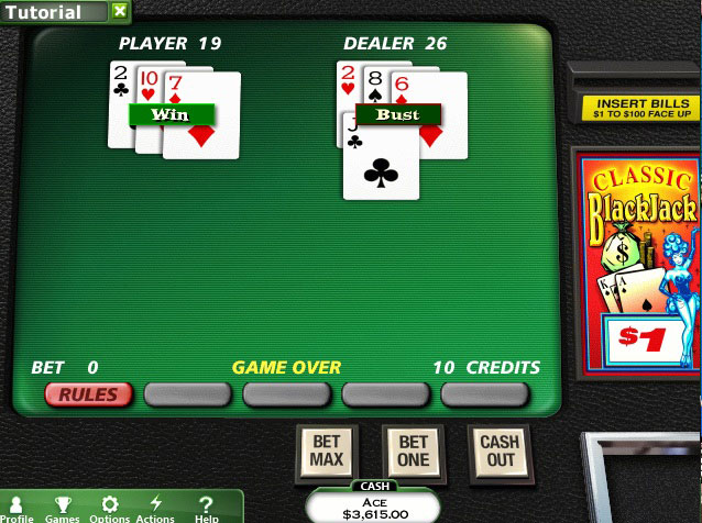 Hoyle Casino Collection 1 screen shot