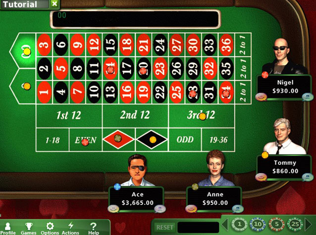 Hoyle Casino Games 2012 screen shot