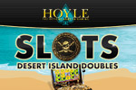 Ahoy matey! It's Swashbucklin' Slots from HOYLE. Loot-filled video slots and fun bonus rounds! Play Hoyle Desert Island Doubles today!