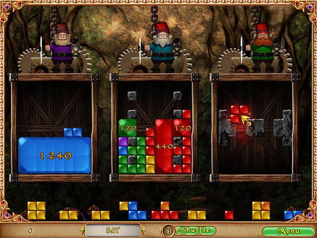 Hoyle Enchanted Puzzles screen shot
