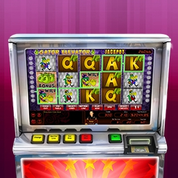 Hoyle Gator Elevator - Hit the Jackpot with exciting slot games from HOYLE®!  Features mechanical and video slots plus unique sound effects. Play Hoyle Gator Elevator today! - logo