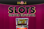 Hit the Jackpot with exciting slot games from HOYLE!  Features mechanical and video slots plus unique sound effects. Play Hoyle Gator Elevator today!