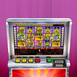 Hoyle Robot Invasion - Hit the Jackpot with Hoyle Robot Invasion!  Features mechanical and video slots, unique sound effects and fun bonus rounds! - logo