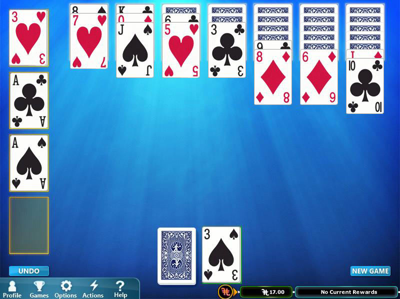 Hoyle Solitaire & More screen shot