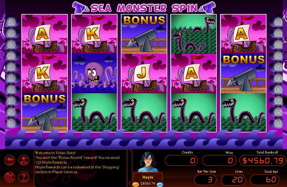 Hoyle Swashbucklin' Slots 2011 screen shot