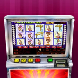Hoyle Wacky Makeovers - Hit the Jackpot with Hoyle Wacky Makeovers!  Features mechanical and video slots, unique sound effects and fun bonus rounds! - logo