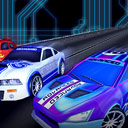 HTR+ Slot Car Simulation - logo