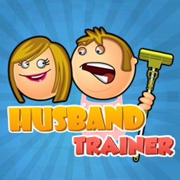Husband Trainer - Some husbands are lazy, and you just can't help but nag them! Train your spouse to fix the house in Husband Trainer. - logo
