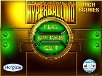 Hyperballoid - The Complete Edition screen shot