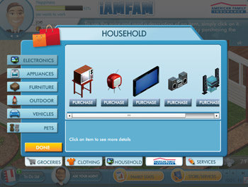 iAMFAM screen shot