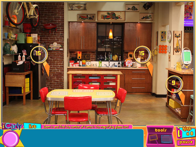 iCarly - iDream in Toons screen shot