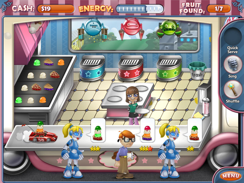Ice Cream Craze: Natural Hero screen shot