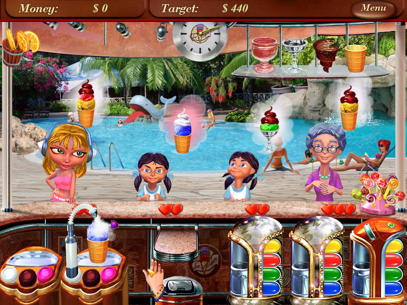 Ice Cream Mania screen shot