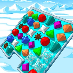 Ice Puzzle Deluxe - Warm hearts as you rescue animals from a winter freeze! - logo