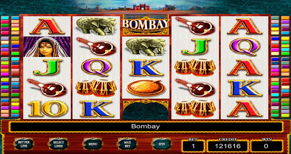 bombay slot machine free game