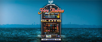 IGT Slots Fire Rubies - image