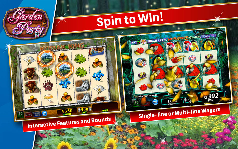 IGT Slots Garden Party screen shot