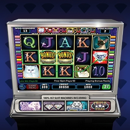 IGT Slots Kitty Glitter - You'll be purring!  Play authentic casino slot machines from IGT - the world's leading Slot Machine Manufacturer - with IGT Slots Kitty Glitter! - logo