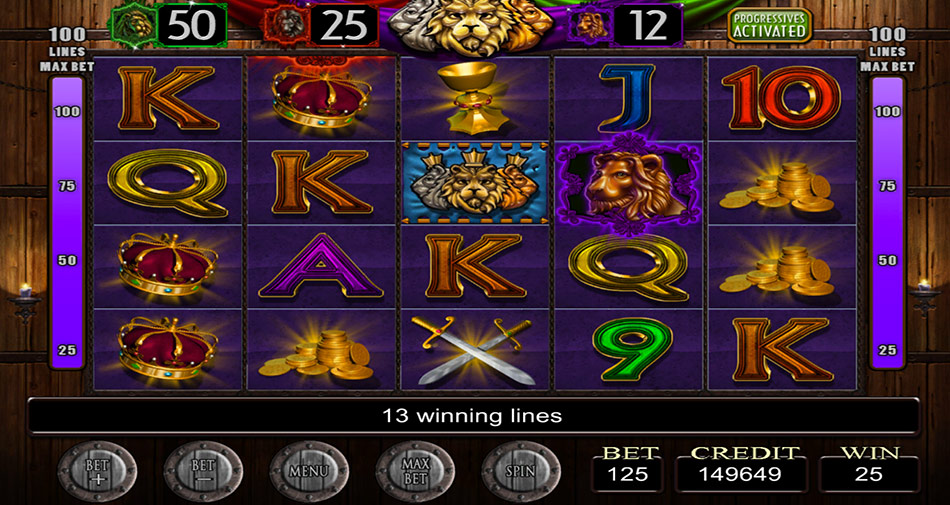 IGT Slots Three Kings screen shot