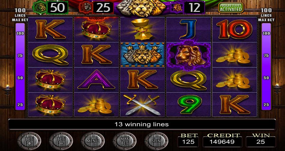 IGT Slots Three Kings screen shot