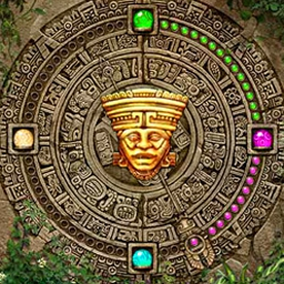 Inca Ball - Launch orbs into colored chains to uncover treasure in Inca Ball! - logo