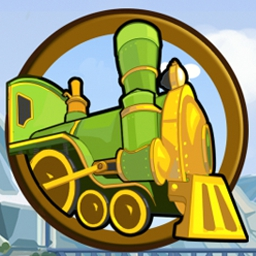 Incredible Express - Rebuild a railroad company in the time management game Incredible Express! - logo
