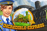 Rebuild a railroad company in the time management game Incredible Express!