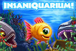 Feed fish, collect coins, shoot aliens, and more in Insaniquarium Deluxe!