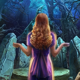 Into the Haze - Go Into The Haze and experience horror you'll never forget!  In this hidden object game, you must rescue your daughter from an ancient demon. - logo