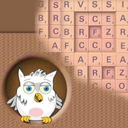 Inwordz Deluxe - Hoot your way 'into' this dictionary-assisted word game! - logo