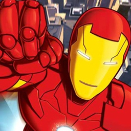Iron Man: Armored Popper - Use Iron Man's repulsor beams to knock down his enemies and clear each stage. Gain new powers as you defeat enemies! - logo