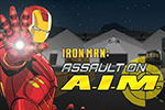 Iron Man's routine inspection turns up a major threat from the forces of A.I.M. Infiltrate and stop them in Iron Man: Assault on A.I.M.!